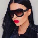 New Women Sunglasses Fashion Vintage Unique Oversized Sun Glasses Shades Gradient Sunglasses For Fem