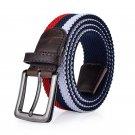Brand Needle Buckle Men\'s Tactical Belts Elastic Stretch Braided Belt Men Women Jeans Pants Casual