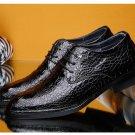 designer dress oxford shoes for men crocodile skin shoes mens italian croco black wedding shoes luxu