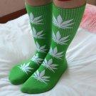 38 Colors 1 Pair Fashion Men Weed Crew Socks Cotton Harajuku Leaf Print Hip Hop Long Socks