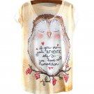 12 Styles Blusa femenina Women Shirts Summer Women Short Sleeve Loose Casual Animal/Floral Printed T
