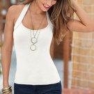 2017 Sexy Women Fashion Summer Vest Top T-Shirt Sleeveless Blouse Casual backless Tank Tops Femme