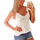 Summer Women Sexy Lace Crochet  Camisole Sleeveless Blouses Tank Tops Hot