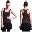 Summer Tank Top Women Camisole Top Fitness Female Vest Tank Shirt  Basic Casual Blouse Camis one siz