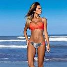 Women Sexy Bikini Push-up Padded Bra Swimsuit Bathing Set  Beach Swimwear