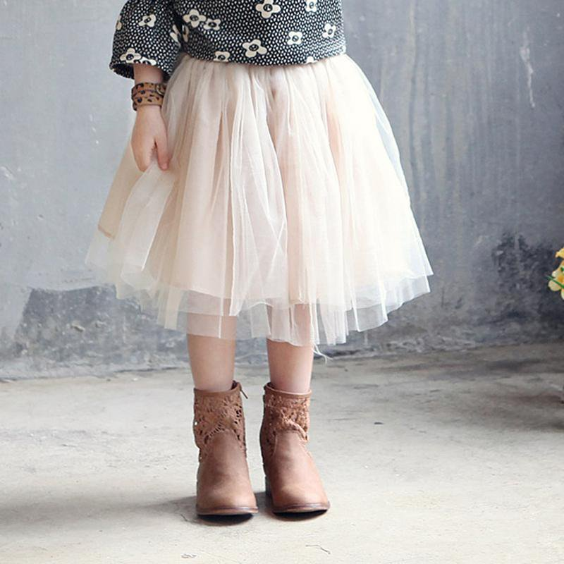 2-10Yrs Baby Girls Skirts in 7 Colors Cute Princess Tutu Candy Color Skirts Bebe Baby Kids Clothes P