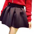 2017 Pleated Skirt Saia Plissada Women Mini Skirt Autumn Winter High Street  Ball Gown Underskirt Hi