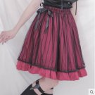 Princess sweet lolita skirts [Dolly Delly] original Gothic wind flounced skirt fringe cage gauze ski