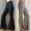 Women Casual Loose High Waist Flare Wide Leg Long Trousers Female Comfortable Basic Solid Pants S-XX