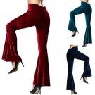 2017 New Arrival Fashion Women Sexy Elegant Temperament Trousers Trumpet Wide Leg Pants Formal Trous