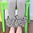 Knit Cotton Baby Girls Pants Pink Stripe Children Girls icing Leggings Triple Baby icing Ruffle Pant