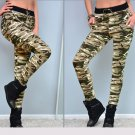 2017 Fashion Spring Long Camouflage Pants Women Skinny Slim Casual Joggers Female Camouflage Trouser