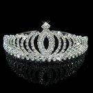 Hot Diadem Silver Bride Bridesmaid Shining Rhinestone Crown Headband Tiara Wedding
