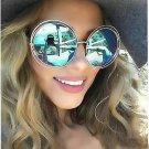 Oversize Sunglasses Women 2016 Fashion Round Italy Brand Design Sun glasses Female Cateye Shades Big