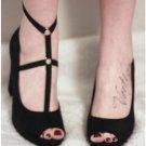2017 new fashion pastel goth garterbelt gothic leg strap foot Binding sexy women cage bondage linger