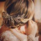 1PC Bridal Handmade Pearl Hair Comb Hairpin Wedding Prom Barrettes Hair Ornaments Women Accessories