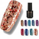 ROSALIND 7ML Environmental Nail Gel Polish Shiny Sequins Nail Art UV LED Polishing Manicure 170808 D