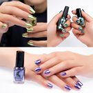 New Women\'s Fashion Mirror Nail Polish Plating Silver Paste Metal Color Stainless Steel Mirror Silv