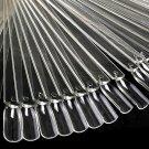 50 Pieces Fan Wheel Polish Practice Tip Sticks Design Decor Set False Display Nail Art Tools