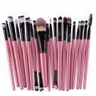 20pcs Make Up Powder Cosmetic Brushes Tools Eyeshadow Eyeliner Brush Set pincel maquiagem makeup bru