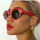 Mirror Lens Round Glasses Goggles Steampunk Sunglasses Vintage Retro For men and women Eyewear