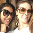 Fashion Design Women Sunglasses Square Gradient Lens Shades Classic Vintage Sun Glasses Female Oculo