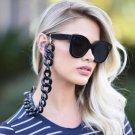 Fashion Design Women Sunglasses Cat Eye Sun Glasses Eyewear Chain Vintage Cord Holder Neck Strap Rop