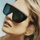 New Brand Designer Women Sunglasses Oversize Acetate Squrae Sun glasses Sexy Shades ss044