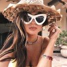 Luxury Cat Eye Sunglasses Women Brand Designer Summer Style Retro Vintage Sun Glasses Women Female L