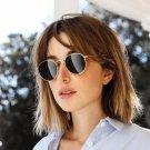 New Fashion Round Sunglasses Women Brand Designer Metal Frame Mens Sun Glasses Classic Designer  MA1