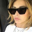 Cat Eye Sunglasses Women Brand Designer Gradient Lens Flat Top glasses For Women Red Black Shades UV