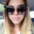 New Cat Eye Sunglasses Women Brand Designer Sexy Retro Mirror Cateye Sun Glasses for Ladies Female S