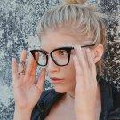 New Cat Eye Sunglasses Women Brand Designer Vintage M nail Eyeglasses Fashion Sun Glasses Oculos De