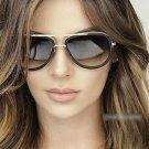 Fashion Sunglasses Women Sun Glasses Luxury Brand Designer For Ladies UV400 Coating Mirror Lens Fema