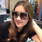 Crystal Square Sunglasses Sexy Ladies Designer Designer Crystal Sun Glasses Ladies 2017 New Gradient