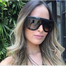Fashion Brand Sunglasses Big Frames Glasses Eyewear Lady Designer Oversize Sun Glasses Women UV400 2