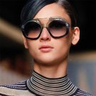 Fashion Design Women Sunglasses Special Frame Twin-Beams Female Sun Glasses Gradient Lens Elegant Ey