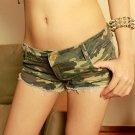 Women Low Rise Hot Shorts Sexy Booty Dance Denim Shorts Jean Micro Mini Pole Dance Short Shorts Pant
