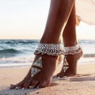 New Fashion Sexy Vintage Silver Anklet Chain Lots Bell Beads Ankle Bracelet Foot Jewelry For Women B