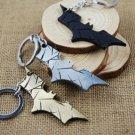 Hot Metal Keychain Bat Shape Pendant Key Chain Gold Black Silver 3 Colors Key Ring Vintage Men Women