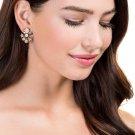 New Hot sale 2017 simple crystal stud earrings glass crystal fashion earring vintage statement Earri