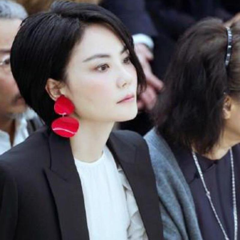 NEW HOT acrylic earring Women\'s fashion earrings New arrival brand stud Big earring for women girls