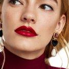 JUJIA 7 colors good quality wholesale faux pearl crystal earrings fashion women statement earring gi