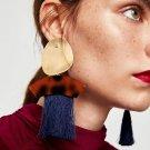 2017 Fashion Bohemian Statement Jewelry Tassel Drop Earrings For Women Ethnic Fringed Dangle Earring