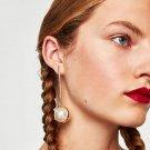 JUJIA Hot Sale Fashion Trendy Simulated Pearl Long Earrings Wedding Drop Dangle Earrings For Women B