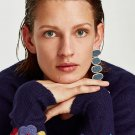 JUJIA Brand Fashion Acrylic Bohemian Dangle Statement Earring Drop Earrings For Women Trendy Jewelry