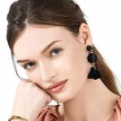 JUJIA 6 colors New Arrival Free shipping vintage hand made fringed drop Earring for lady jewelry Fac