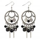 Vintage Women Bohemian Earrings Long Tassel Fringe Dangle Earrings  Jewelry