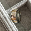 High-quality fashion men and women high-polished rings 316L stainless steel titanium gold gold silve