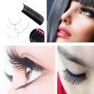 12rows/box Single planting false eyelashes all Size JBCD eyelash extensions Man-made fibers false ey